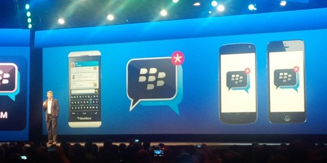 It's Official: BlackBerry Messenger Is Coming To Android And iOS This Weekend