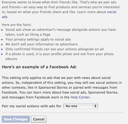 Stop The Spam: You Can Control The Facebook Ads You See [Weekly Facebook Tips] Facebook Adverts Block Image Use