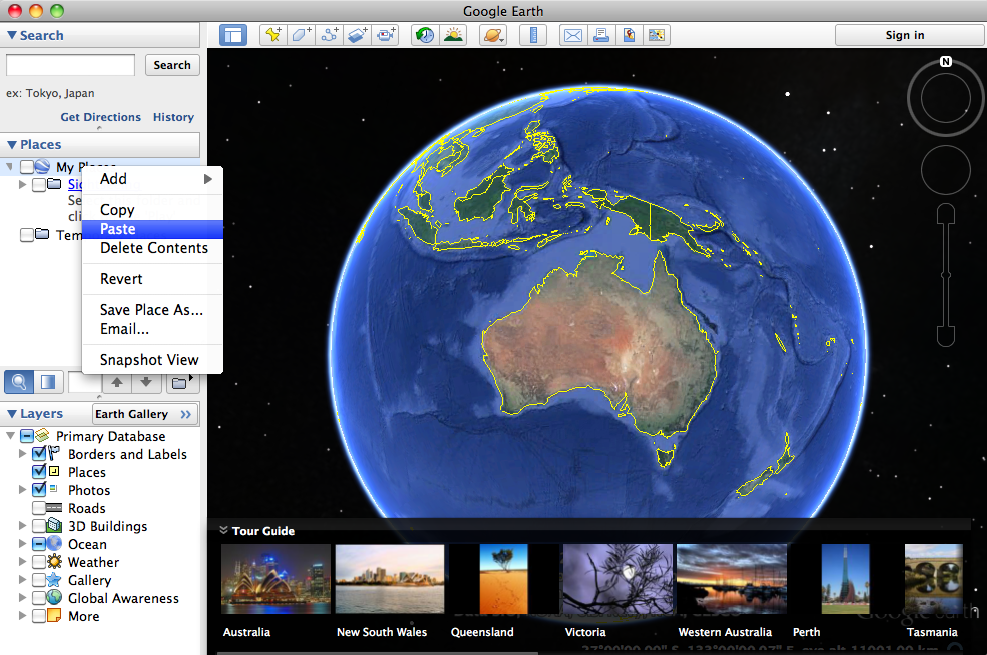 Google-Maps-Earth-Import