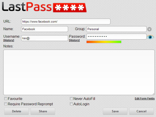 LastPass-Accounts