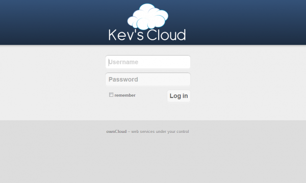 OwnCloud-Home