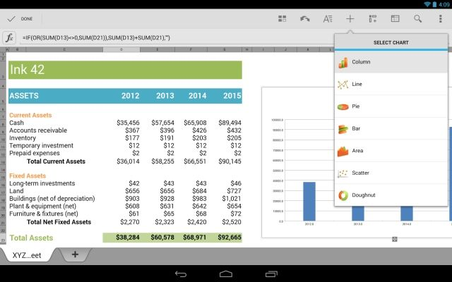 QuickOffice-Google-Drive-Free-Android-iOS-Charts