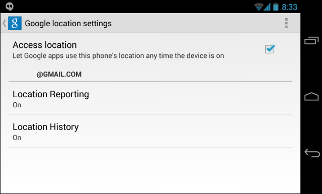 android-google-access-location