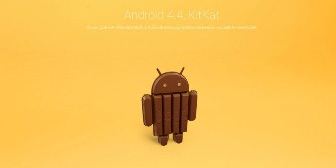 Android KitKat? Give Me A Break!