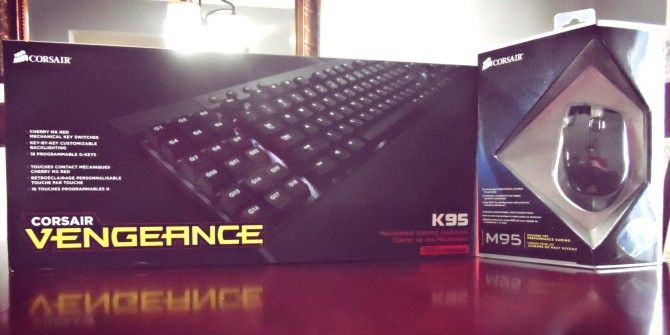 Corsair Vengeance K95 Mechanical Gaming Keyboard & M95 Gaming Mouse Review and Giveaway