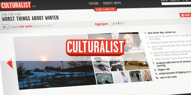 Love Making Lists? Culturalist Is Going To Be Your New Best Friend [Beta Invites Inside]