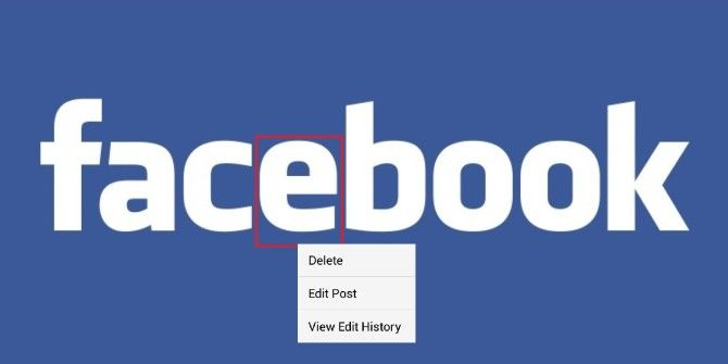 Get Rid Of That Typo: Facebook Now Allows For Editing Status Updates