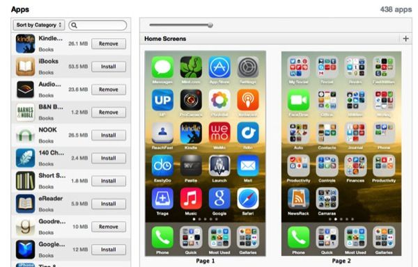 ITunes devices 1