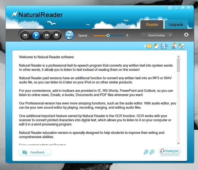 natural reader software for mac crack