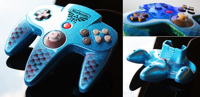 15 Awesome Custom-Painted Nintendo Consoles and Controllers nintendo 14