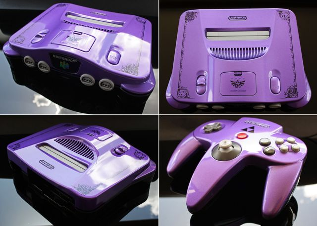 15 Awesome Custom-Painted Nintendo Consoles and Controllers nintendo 2