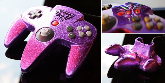 15 Awesome Custom-Painted Nintendo Consoles and Controllers nintendo 3