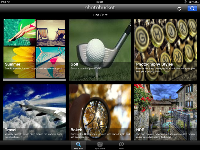 Photobucket & Imgur: 2 Underrated & Unloved iOS Image Sharing Apps photobucket1
