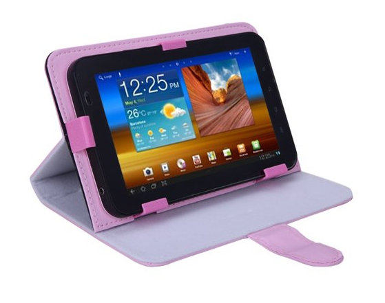 pink universal tablet case