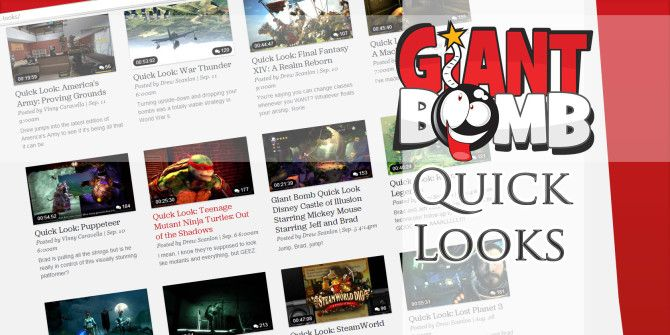 3 Hilarious Giant Bomb Quick Looks For Games You Will Never Play