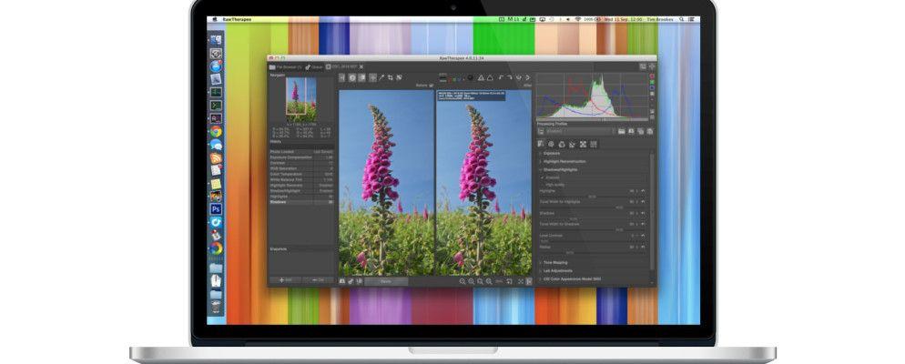 editing raw files on mac