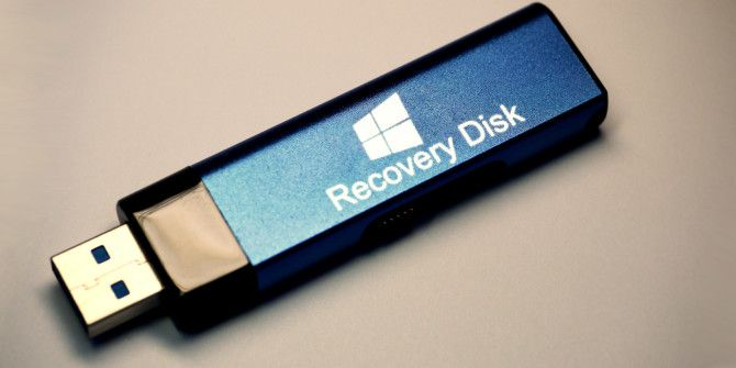 How to Create a Windows 8 Recovery Disk