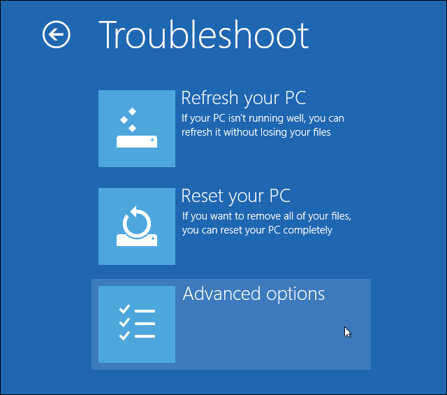 troubleshoot advanced options How Can I Install Hardware with Unsigned Drivers in Windows 8?