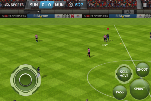 FIFA 14 On iOS: The Most Authentic Portable Football Experience Around 2013 10 11 15