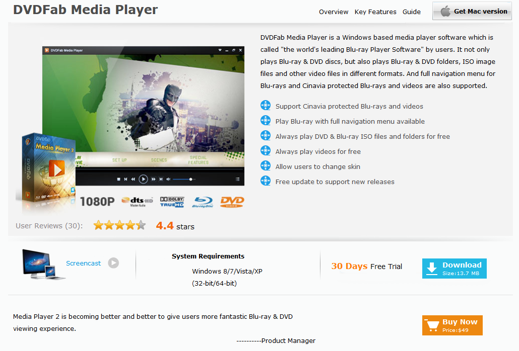 Press Play: The DVDFab Media Player 2 Manual DVDFab 2