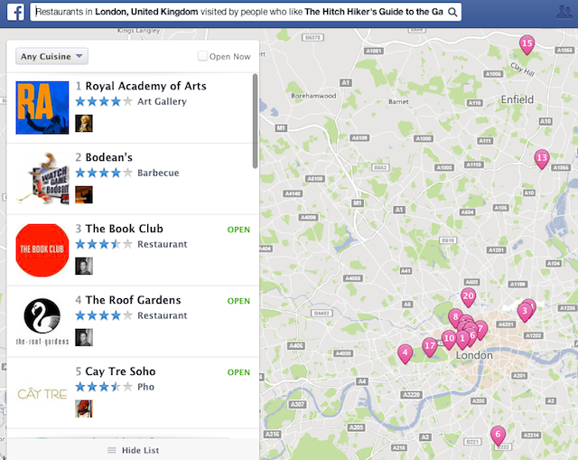 6 Cool Things You Can Find With Facebook's New Graph Search Features [Weekly Facebook Tips] Facebook Graph Search 5
