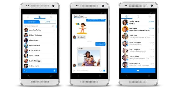 Facebook Revamping Messenger for Android, Integrates SMS