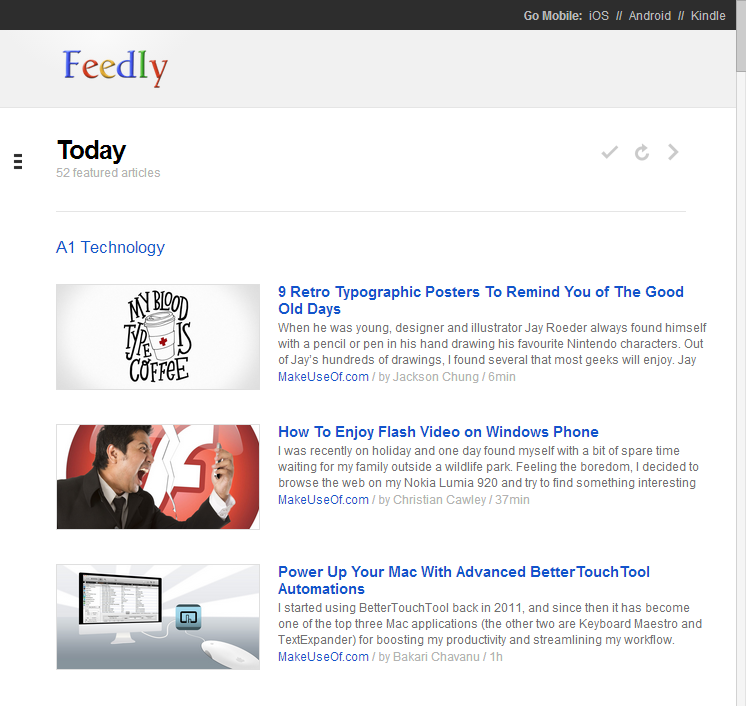 Unofficial Guide To Feedly: Better Than Google Reader Feedly 3
