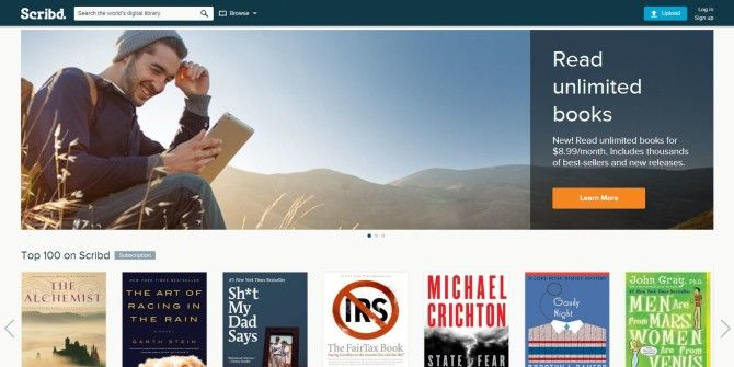 Scribd And HarperCollins Launch All-You-Can-Read Book Subscription Service For $8.99/m