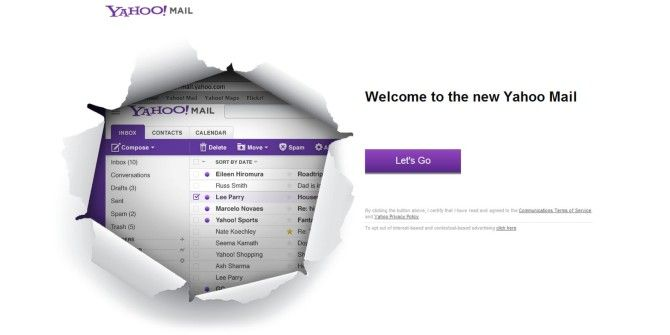 Yahoo Redesigns Mail For Web, Mobile And Windows, Offers 1TB Storage & Conversations View