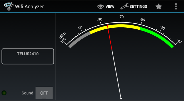 "What Is A Wireless ""Dead Zone"" And How To Eliminate It? android measure wifi signal strength"