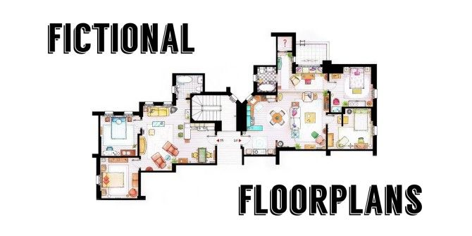 10 Fictional Floorplans From Popular TV Shows