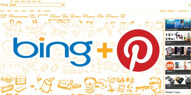 Bing Gets Prettier: Adds Pinterest Boards To Image Search