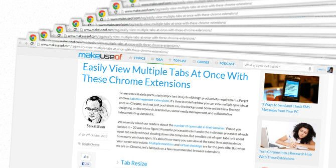 Easily View Multiple Tabs at Once With These Chrome Extensions