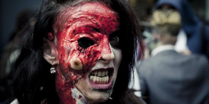 29 Hideously Scary Halloween Makeup Ideas You Can Borrow From the Web
