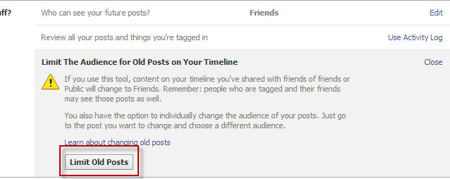 Watch Out! All Public Facebook Posts Are Now Fully Searchable facebook limitoldposts