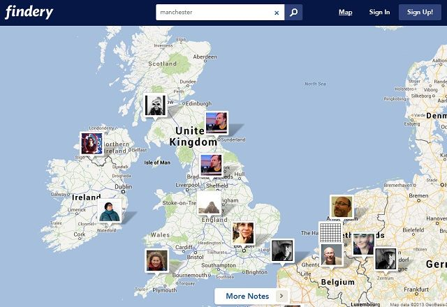 Plan Future Vacations With These Pinterest-Style Websites For Locations findery map
