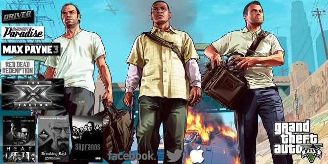 The Games, TV Shows, Movies, & Technology That Influenced GTA V