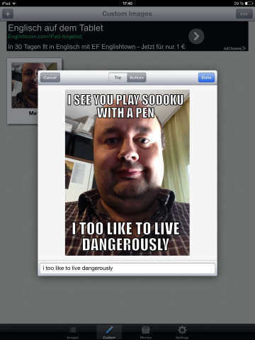 Meme Generator: Possibly The Most Amount Of Fun You Will Have On Your iPad memegenerator8