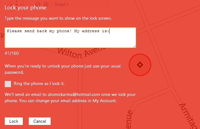 muo-wp8-findmyphone-lock