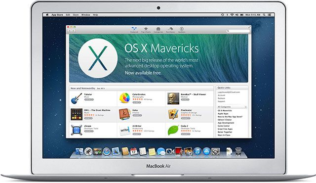 Windows 10 Is the Last Version of Windows. Ever. osx mavericks air