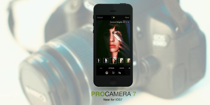 ProCamera 7 for iPhone Upgrade Is Like Buying A New Camera