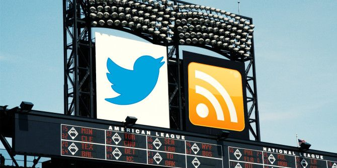 Know the Score: Get Real-Time Sports Updates Using Twitter or RSS