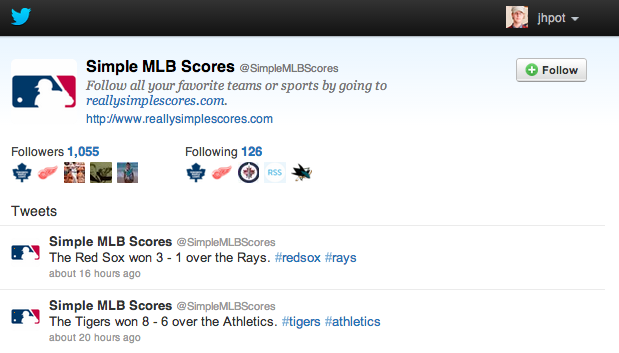 Know the Score: Get Real-Time Sports Updates Using Twitter