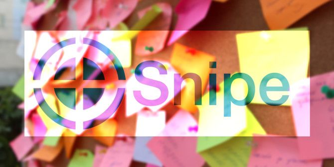 Capture Your Quick Notes, Ideas, and Photos With Snipe for iOS & OS X