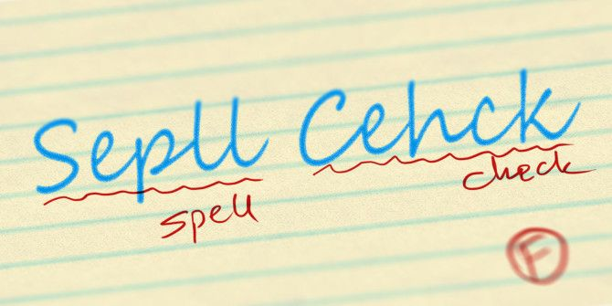 How To Spell Check A Document Without A Word Processor