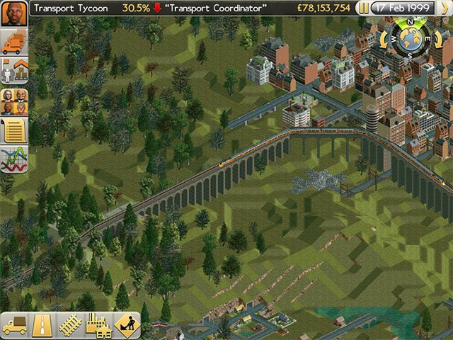 Transport Tycoon Review: Infrastructure Has Never Been So Fun tt railway bridge