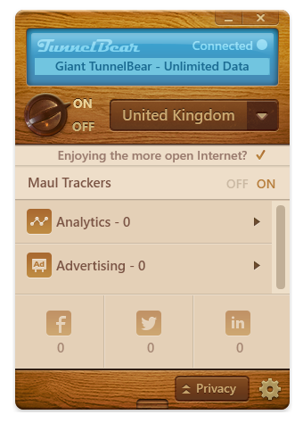 Tunnelbear VPN Adds Privacy Protection &