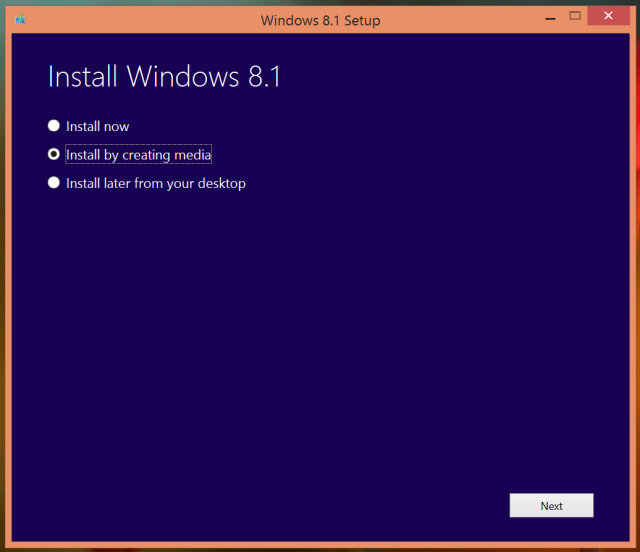 6 put windows 8.1 on usb or dvd