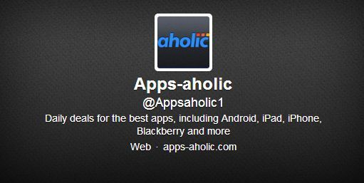 Appsaholic-Track-App-Discounts-Deals-On-Twitter