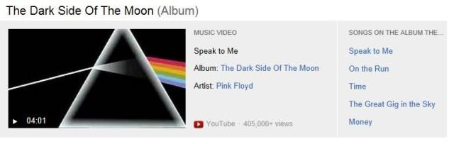 Bing-Music-Video-Search-Album-Dark-Side-Of-The-Moon
